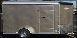 2011 Enclosed Motorcycle Trailer